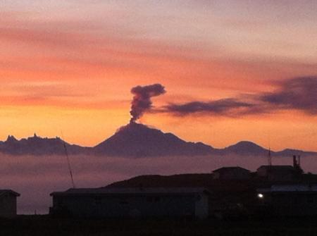 Pavlof Volcano, Alaska, 2013