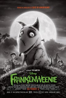 Edna looked like a cousin of Frankenweenie.