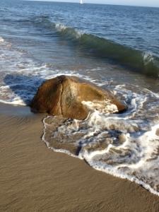 Tide coming in.