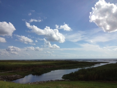 "The ""moat"" around Lake Okeechobee."