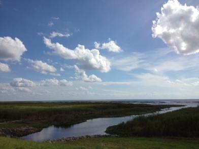 "The ""moat"" around Lake Okeechobee."