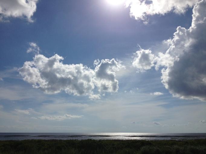 Florida has a lot of sky.