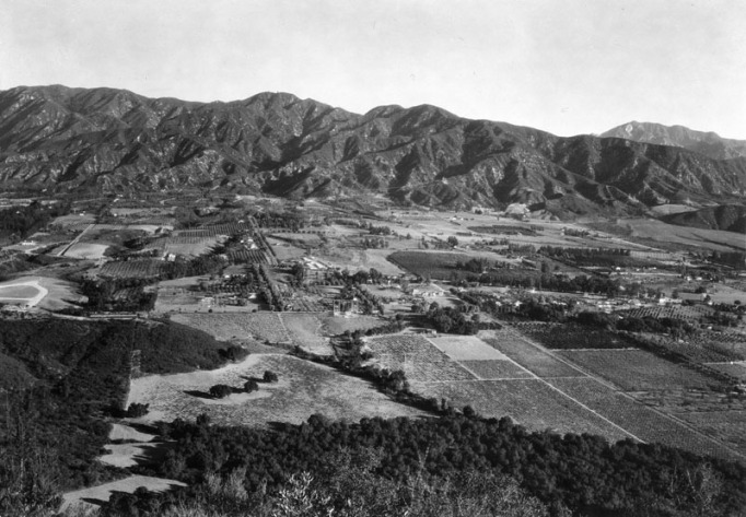 The valley in 1927.